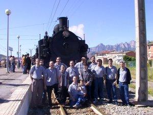 (5-6-7 JUNIO-2015)  FIRA DEL VAPOR A SANT VICENÇ DE CASTELLET (BARCELONA) (CLUB DE LA SONRISA)  Tren_vapor1